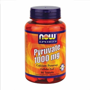 NOW Sports Pyruvate 1000mg tablets