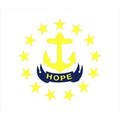 Annin Rhode Island State Flag - 4' x 6'