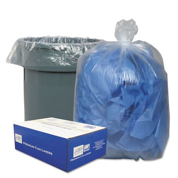Webster Clear Linear Low-Density Can Liners