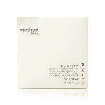 Method Bloq Body WASH WATER FLOWER Method Bloq Body Wash, Pure Minimalist Water Flower, 12 oz.