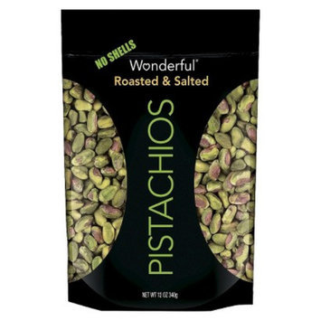 Wonderful Pistachios Wonderful Shelled Pistachios Roasted And Salted 12 oz