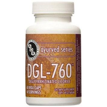 DGL 760mg (60 VeggieCaps) Brand: A.O.R Advanced Orthomolecular Research