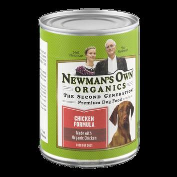 Newman's Own Organics Premium Dog Food Chicken Formula