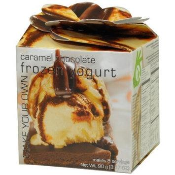 Foxy Gourmet Caramel Chocolate Yogurt Mix, 3.17-Ounce Boxes (Pack of 3)