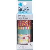 Martha Stewart Modern Festive Paper Tape, 4pk