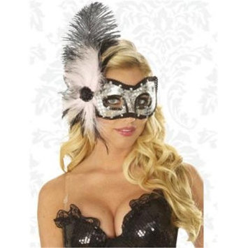 Franco American Novelty Company Llc Franco American Novelty 33941 Cat Eyes Feather Mask - Pink