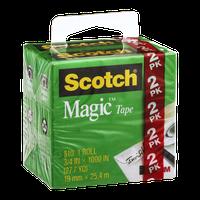 Scotch Magic Tape Roll - 2 CT