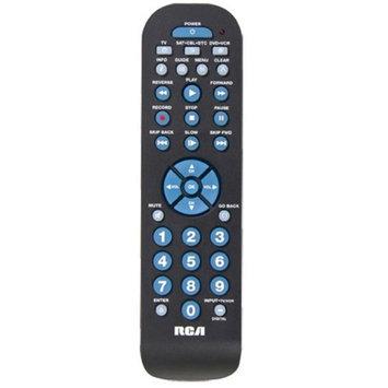 Rca RCA RCR3273R 3 Device Universal Remote Control - Black