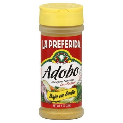 La Preferida Adobo, Low Sodium, 8-Ounce (Pack of 12)