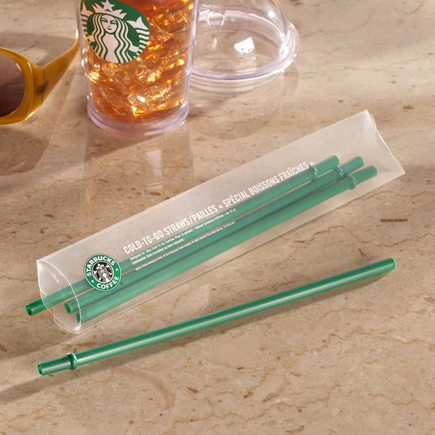 Starbucks Set of 4 Grande Cold Cup Straws