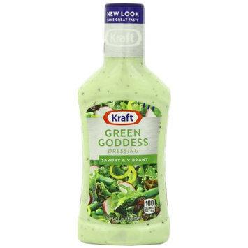 Kraft Salad Dressing Seven Seas Green Goddess Dressing, 16 FL OZ (Pack of 6)
