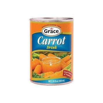 Grace Carrot Juice Drink Can 18.3 oz