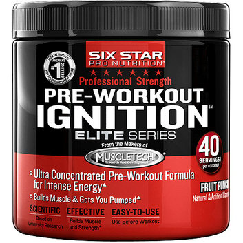 Six Star Pro Nutrition Fruit Punch Elite Series Professional Strength Pre-Workout Ignition