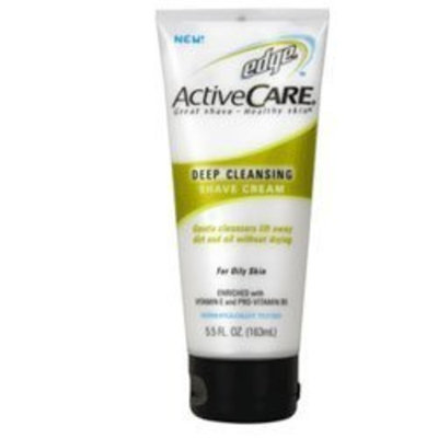 EDGE SHAVE GEL Edge Active Care Deep Cleansing Shaving Cream For Oily Skin - 5.5 oz