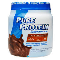 Pure Protein Daily Fit Rich Chocolate Dietary Supplement Powder - 19.