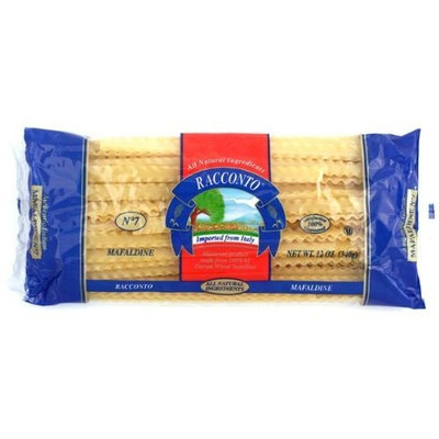 Racconto Mafaldine/Thin Lasagna, 12-Ounce Packages (Pack of 16)