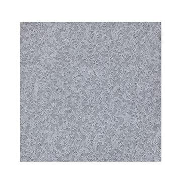 King Zak Ind Lillian Tablesettings 23135 Silver Texture Beverage Napkin - 960 Per Case