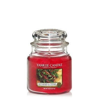Yankee Candle Red Berry & Cedar 14.5 oz. Housewarmer Jar