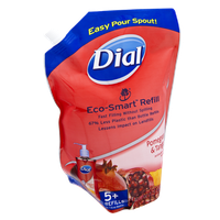 Dial® Eco-Smart Pomegranate & Tangerine Antibacterial Moisturizer Hand Soap Refill