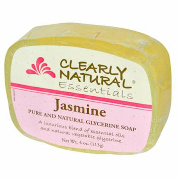 Clearly Naturals Clearly Natural Glycerine Bar Soap Jasmine 4 oz