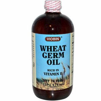 Viobin Wheat Germ Oil Liquid Rich in Vitamin E 16 fl oz