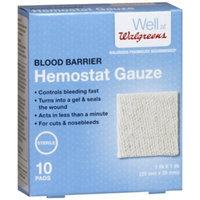 Walgreens Blood Barrier Hemostat Gauze, 10 ea