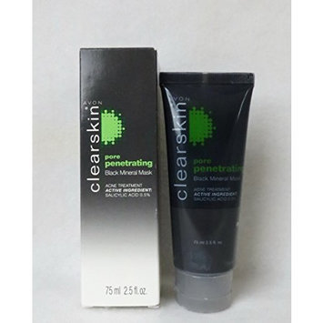 Avon Clearskin Pore Penetrating Black Mineral Mask