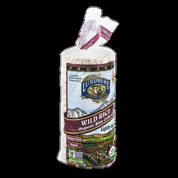 Lundberg Wild Rice Organic Rice Cakes Lightly Salted
