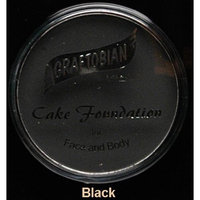 Graftobian Cake Eye Liner, .18 oz. Professional Size - Jet Black