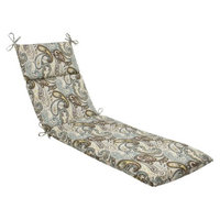 Pillow Perfect Outdoor Chaise Lounge Cushion - Tamara Paisley