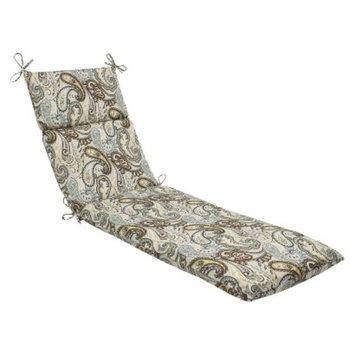 Pillow Perfect Outdoor Chaise Lounge Cushion - Tamara Paisley