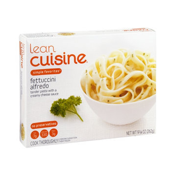 Lean Cuisine Simple Favorites Fettuccini Alfredo