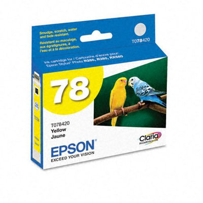 Epson T078420 Claria Hi-Def Yellow Ink Cartridge