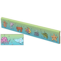 Soy Delicious Lily Trim Sea Creatures Children's Molding Colonial Wall Base 94