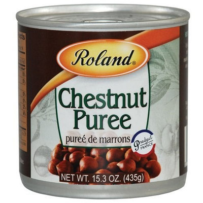 Roland Chestnut Puree (Puree de Marrons) (10.5 ounce)