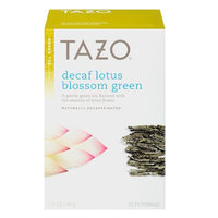 Tazo Decaf Lotus Blossom Green