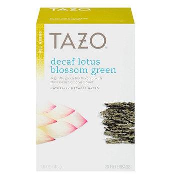 Tazo Decaf Lotus Blossom Green