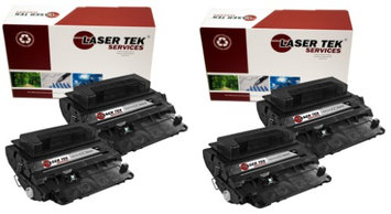 Laser Tek Services HP CC364A (64A) 4 pack of High Yield Compatible Replacement Toner Cartridges