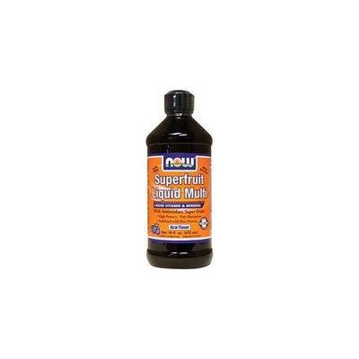 Now Foods Superfruit Liquid Multi Acai Flavor 16 fl oz Liquid