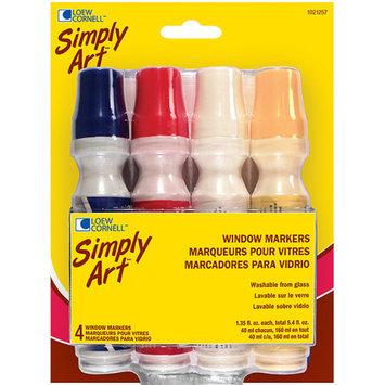 Loew Cornell Simply Art Window Markers Set