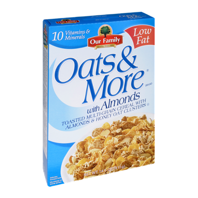 Our Family Oats & More with Almonds Cereal