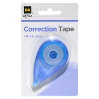 DG Office Correction Tape - assorted colors