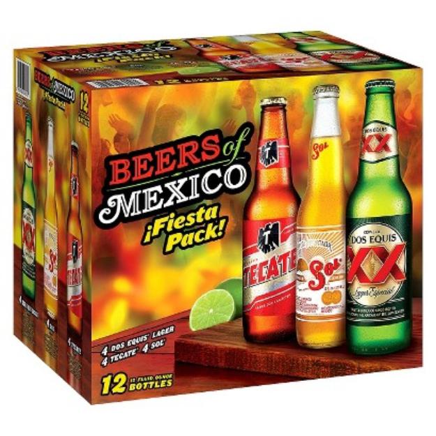 Beers of Mexico Fiesta Pack