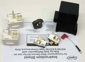 Supco 8201786 2188830 Refrigerator Overload & Relay Kit For Whirlpool Kenmore New!