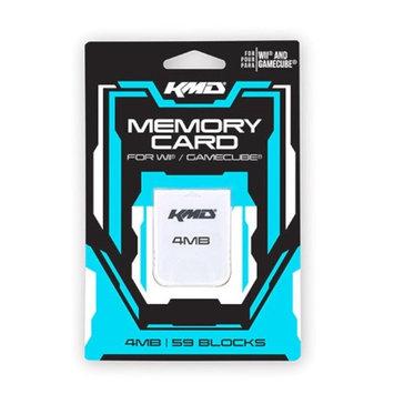 Komodo KMD Wii Memory Card 4MB - 59 Blocks