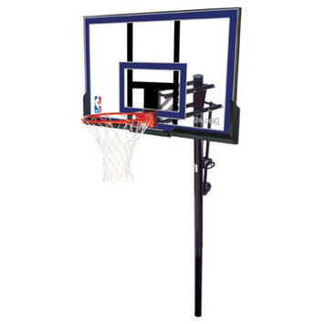 Spalding 88355 50 in. Acrylic In-Ground Basketball System
