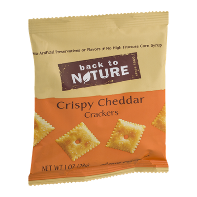 Back To Nature Mini Crispy Cheddar Crackers