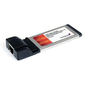 StarTech CT6669M StarTech.com 1 Port ExpressCard Gigabit Laptop Ethernet NIC Network Adapter Card (EC1000S)