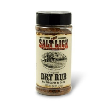 The Salt Lick Original Dry Rub Seasoning - For BBQ Pit and Grill - 12 oz