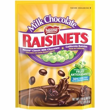 Raisinets Chocolate Covered Raisins